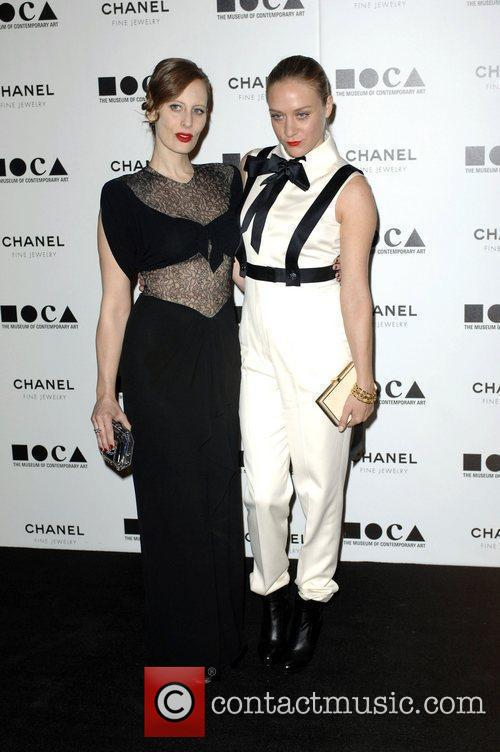 Liz Goldwyn, Chloe Sevigny  MOCA's Annual Gala...