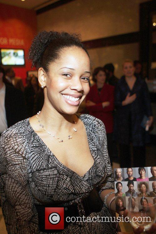 Alisha Criner at the New York premiere of...