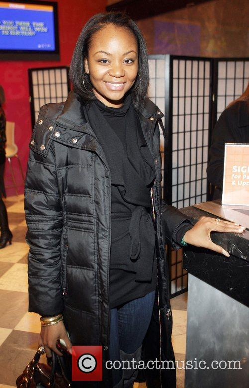 Isis Adewale at the New York premiere of...