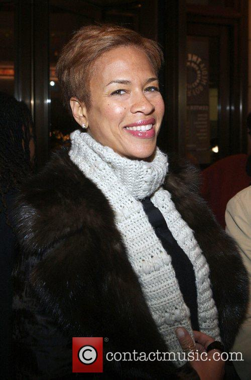 Tania Lewis-Lee  at the New York premiere...
