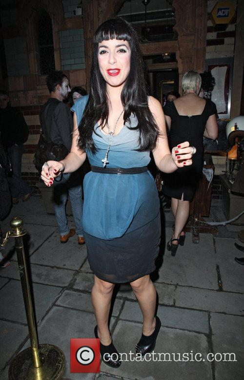 Ruth Lorenzo Celebrities attending 'Love To Love' club...