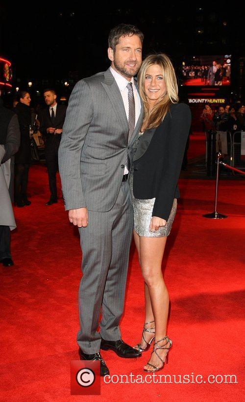 Jennifer Aniston, Gerard Butler 'The Bounty Hunter' UK...