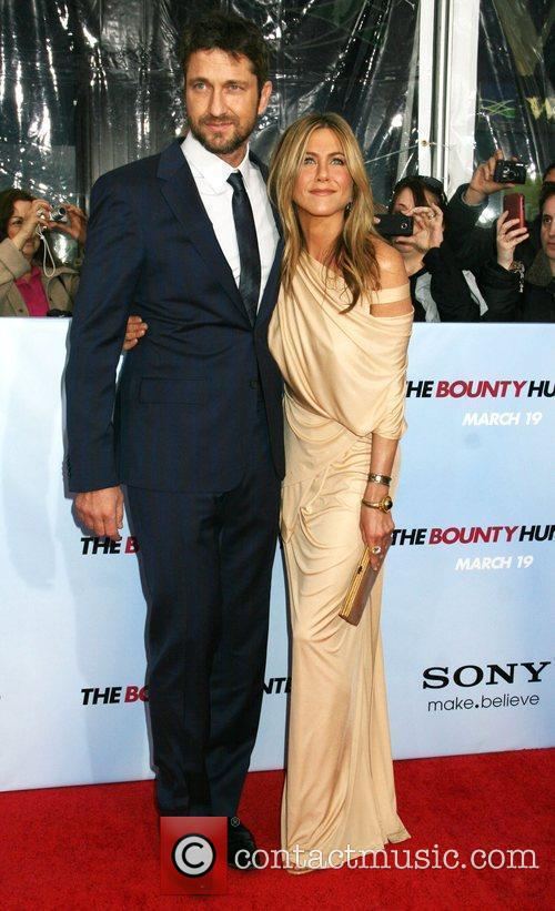 Gerard Butler, Jennifer Aniston, Ziegfeld Theatre