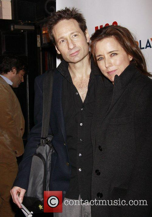 David Duchovny and Tea Leoni 3