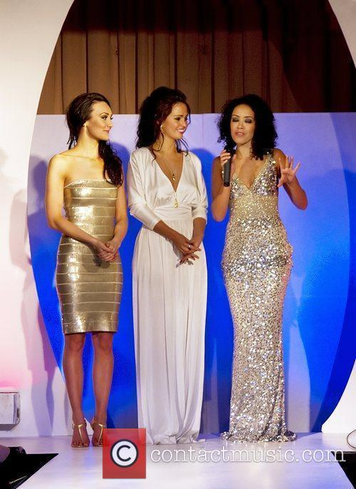 Claire Cooper, Jennifer Metcalfe and Leah Hackett The...