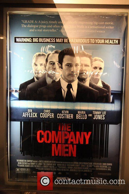 Screening of the new film 'The Company Men'...