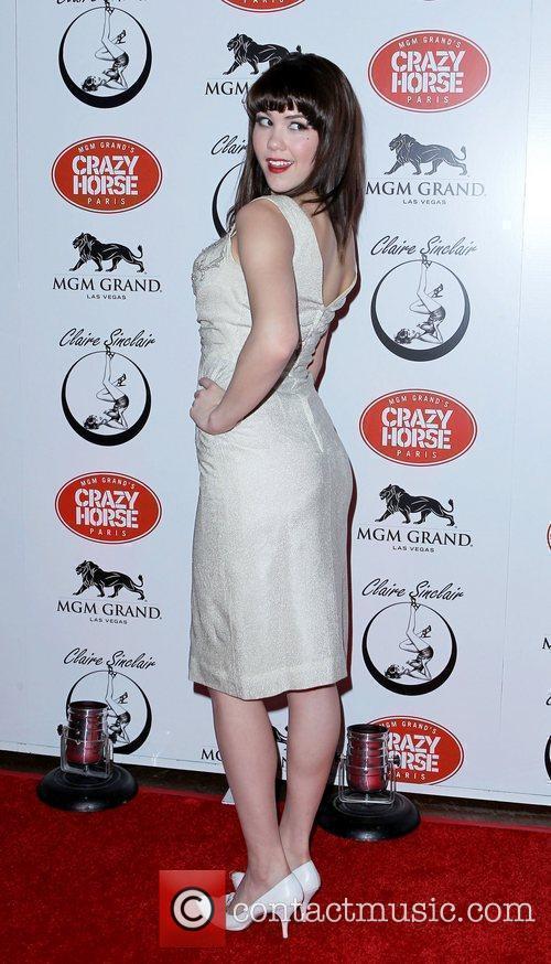Claire Sinclair Premieres at The Crazy Horse Paris...