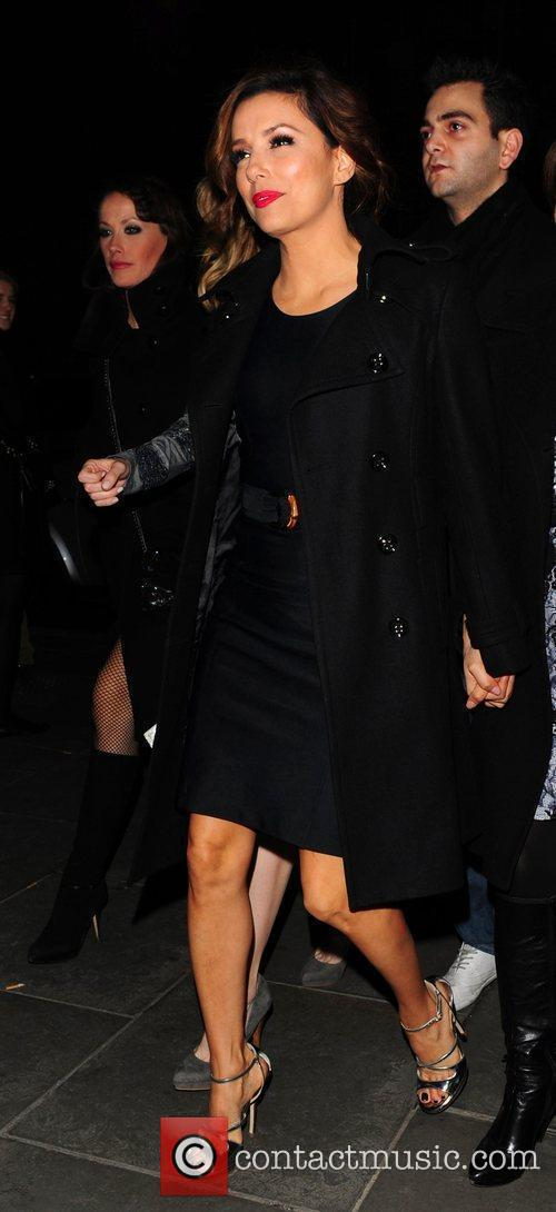 Arrives at The Cuckoo Club to celebrate her...