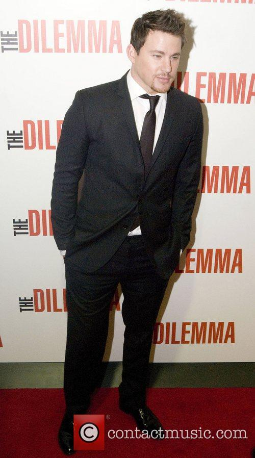 Channing Tatum World premiere of 'The Dilemma' held...