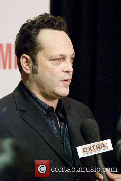 Vince Vaughn World premiere of 'The Dilemma' held...