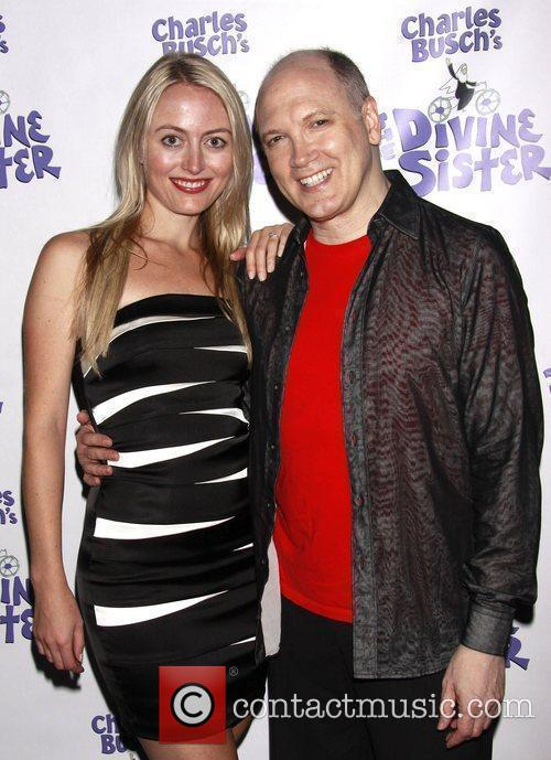 Amy Rutberg and Charles Busch The opening night...