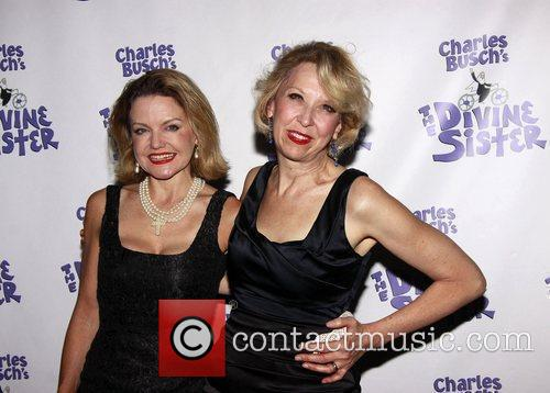 Alison Fraser and Julie Halston The opening night...