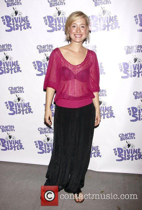Allison Mack The opening night of the Off-Broadway...