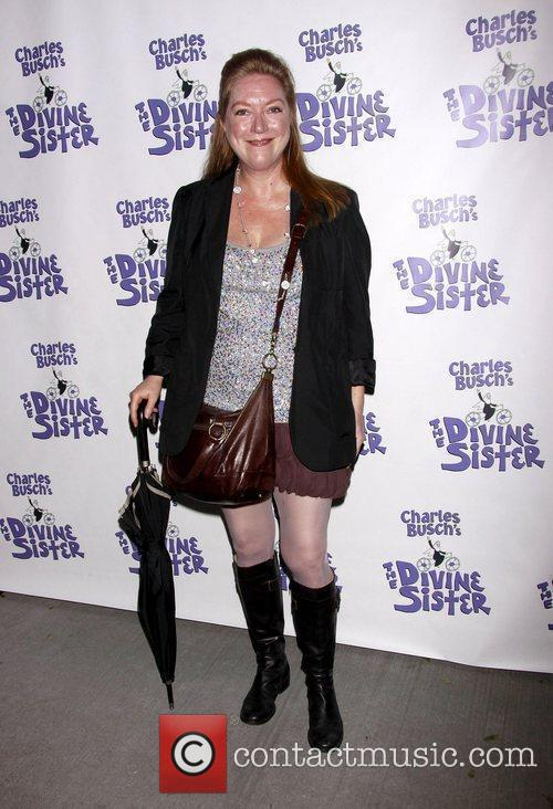 Kristine Nielsen The opening night of the Off-Broadway...
