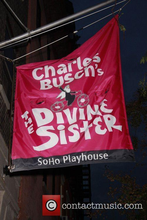 The opening night of the Off-Broadway production of...