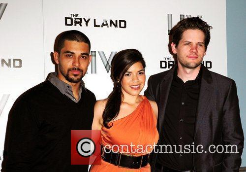 Wilmer Valderrama, America Ferrera and director Ryan Piers...
