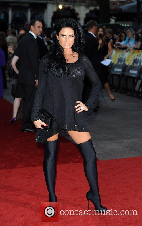 Katie Price The Expendables - UK film premiere...