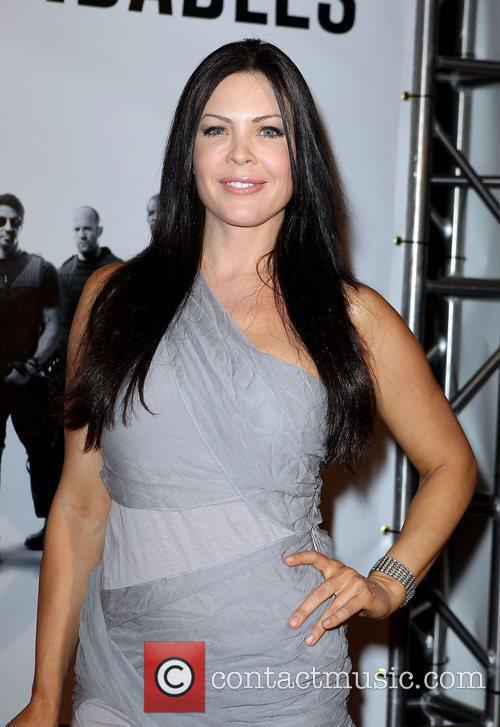 Christa Campbell Special Screening of ' The Expendables'...