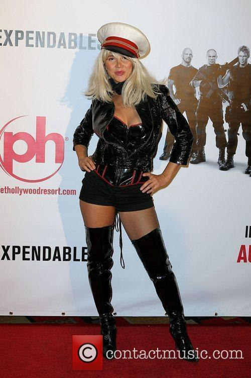 Nadeea Special Screening of ' The Expendables' at...