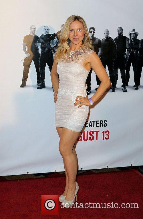 Shirly Brener Special Screening of ' The Expendables'...