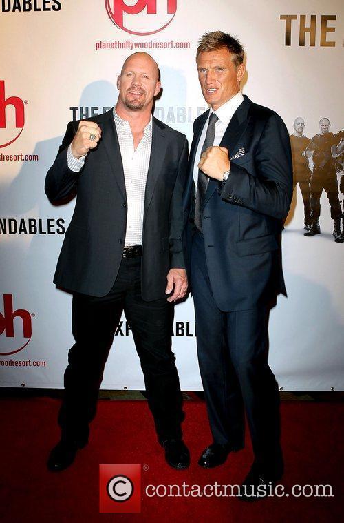 Steve Austin and Dolph Lundgren 3