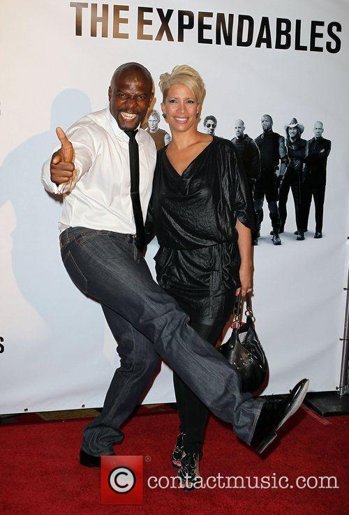 Terry Crews and Rebecca Crews Special Screening of...
