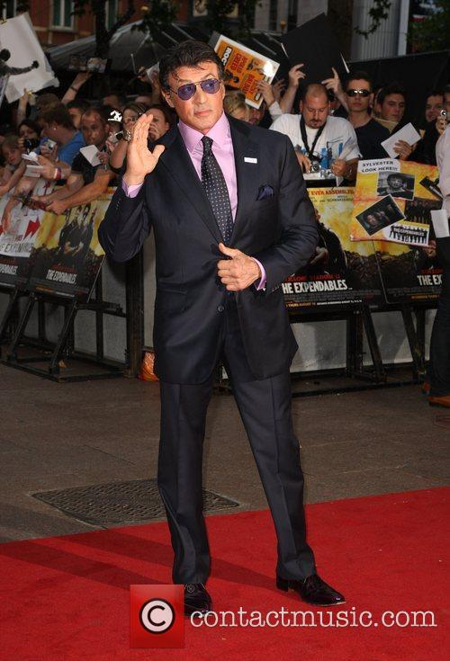 Sylvester Stallone 'The Expendables' - UK film premiere...
