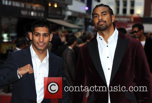 Amir Khan and David Haye 'The Expendables' -...