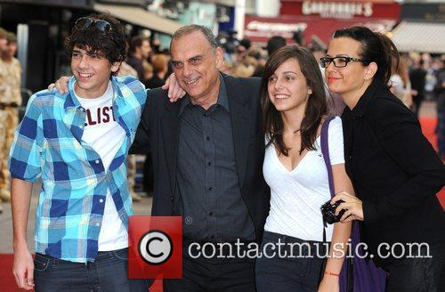 Avram Grant and Family 'The Expendables' - UK...