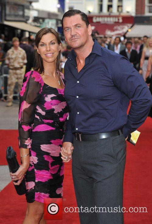 Guests 'The Expendables' - UK film premiere held...