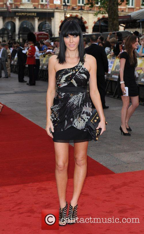 Linzi Stoppard 'The Expendables' - UK film premiere...