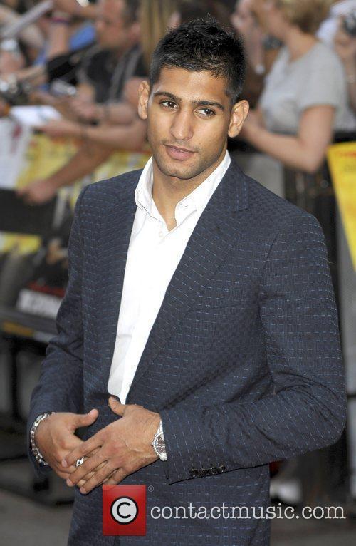 Amir Khan The Expendables - UK film premiere...