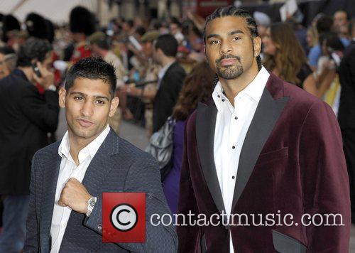 Amir Khan & David Haye The Expendables -...