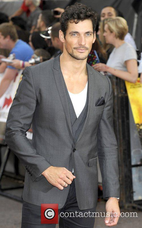 David Gandy The Expendables - UK film premiere...