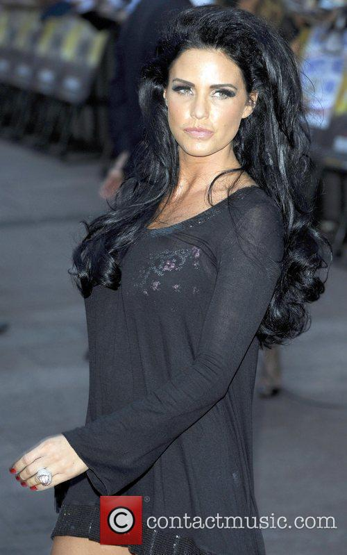 Katie Price, Odeon Leicester Square