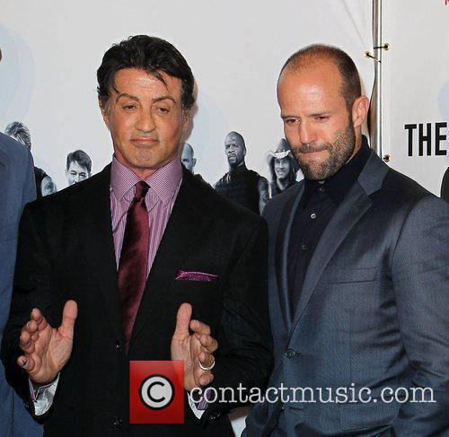 Sylvester Stallone, Jason Statham, Planet Hollywood