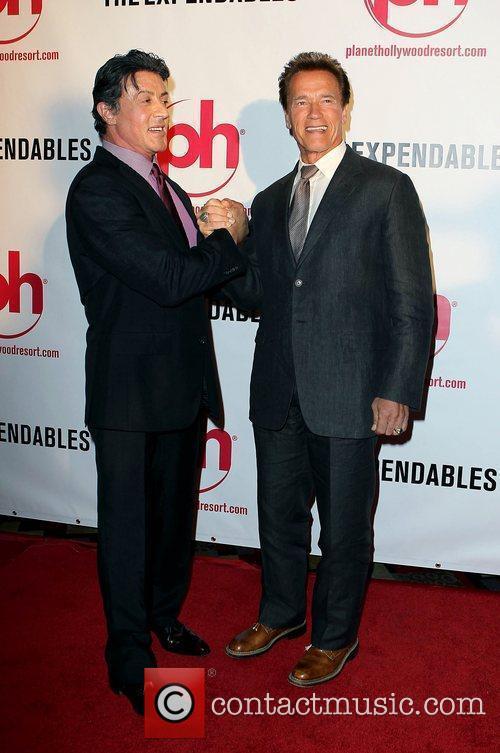 Sylvester Stallone and Arnold Schwarzenegger 6