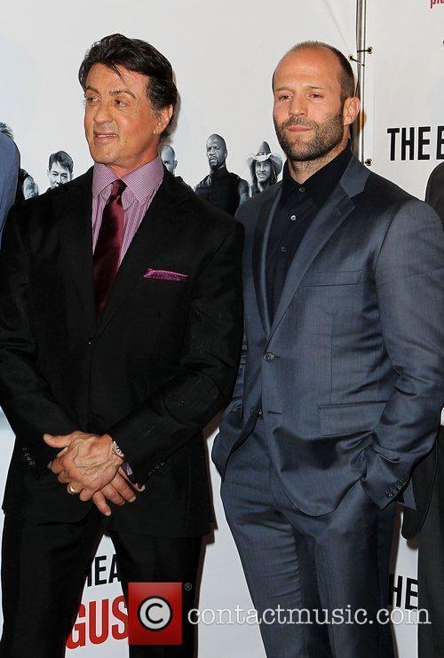 Sylvester Stallone and Jason Statham 1