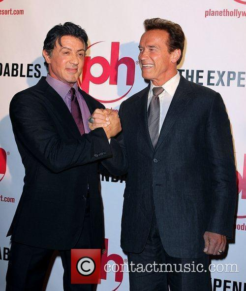 Sylvester Stallone and Arnold Schwarzenegger 8