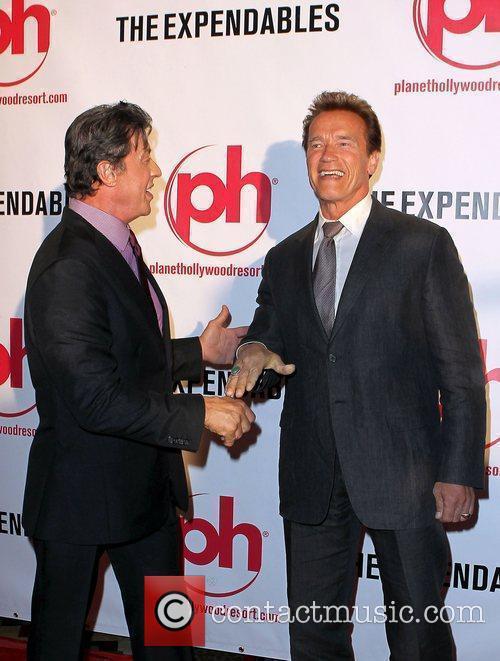 Sylvester Stallone and Arnold Schwarzenegger 10