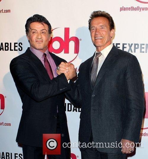 Sylvester Stallone and Arnold Schwarzenegger 11