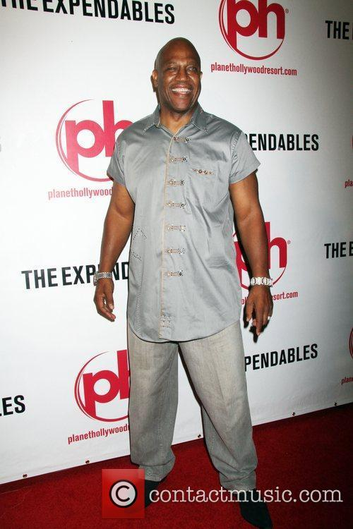 Tommy Lister Special screening of 'The Expendables' at...