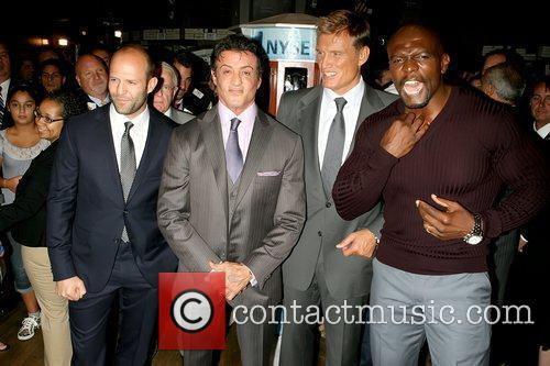 Jason Statham, Dolph Lundgren, Sylvester Stallone and Terry Crews 3