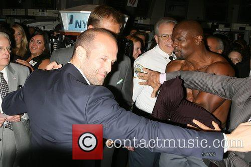 Jason Statham, Dolph Lundgren, Sylvester Stallone and Terry Crews 7