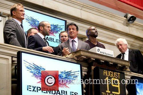 Dolph Lundgren, Jason Statham, Sylvester Stallone and Terry Crews 9