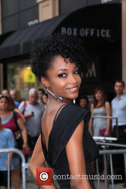 Actress YaYa DaCosta  the premiere of 'The...