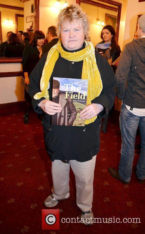 Brenda Fricker,  at the opening night of...