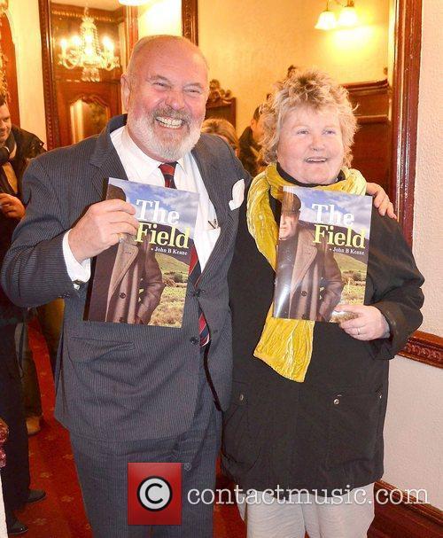 David Norris, Brenda Fricker,  at the opening...