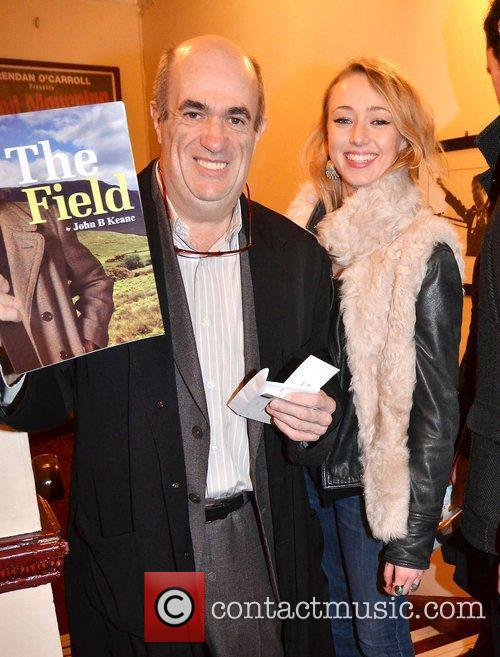 Colm Tobin, Roisin Agnew,  at the opening...