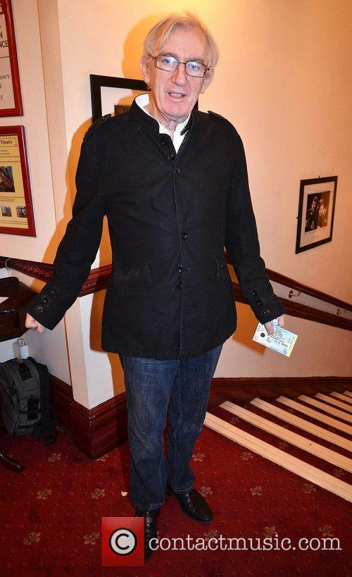 Shay Healy,  at the opening night of...
